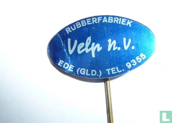 Rubberfabriek Velp - Ede - Rubberfabriek Velp n.v. Ede (Gld.) Tel. 9355