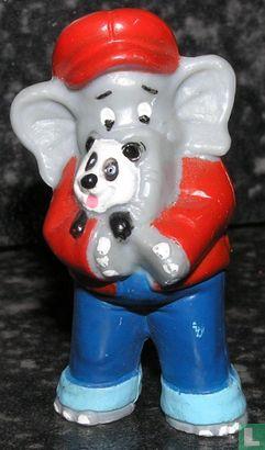 Benjamin the Elephant - Benjamin Blümchen with panda