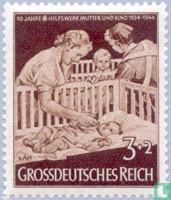 Deutsches Reich - Mutter und Kind
