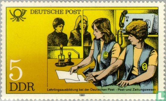 GDR - Training at the German Post