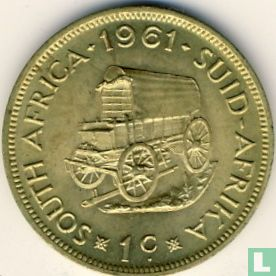 South Africa - South Africa 1 cent 1961