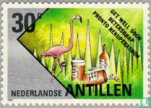 Netherlands Antilles - wish stamps