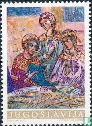 Joegoslavië - Jugoslawische Kunst Fresco's