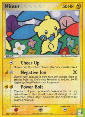 English)2006) Promo - eX - Pokémon Organized Play series 3 (POP3) - Minun (Holo)