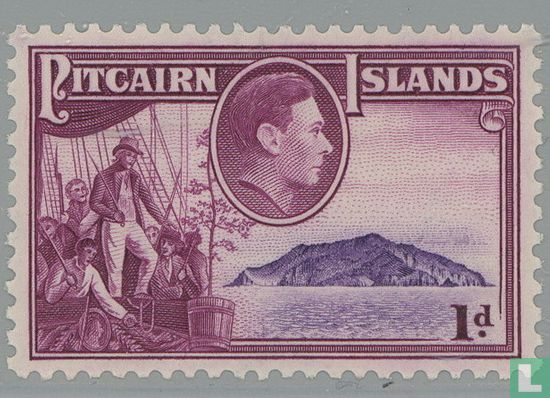 "Pitcairn - Koning George VI en de ""Bounty"""