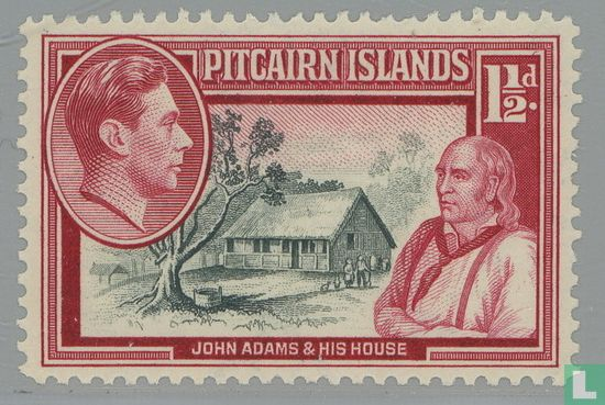 """Pitcairn - King George VI and the """"Bounty"""""""