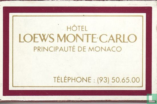 Loews Monte Carlo - Image 1