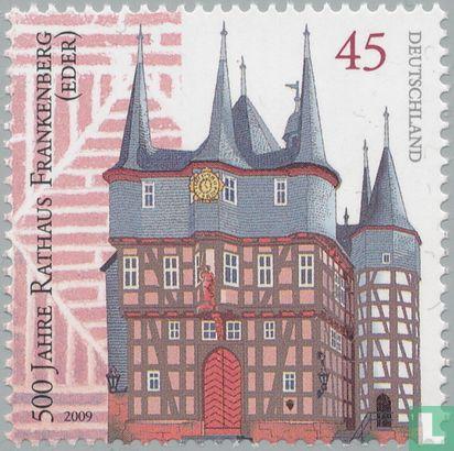 Allemagne [DEU] - Frankenberg, hôtel de ville