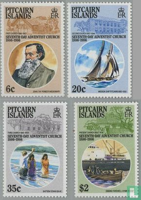 Pitcairn - Kerk 1886-1986