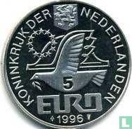 """Nederland 5 Euro 1996 """"Willem Barentsz"""" - Afbeelding 1"""