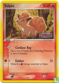 English)2007) eX - Power Keepers - Vulpix (reverse)
