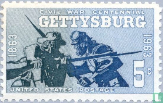 United States of America (USA) - Battle of ad Gettysburg 1863