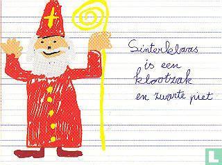 """B030238 - Kelvin """"Sinterklaas is een klootzak en zwarte piet"""" - Afbeelding 1"""
