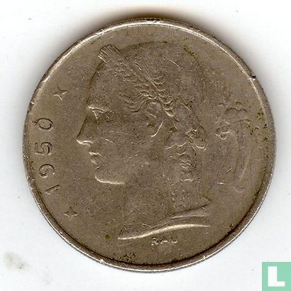 Belgium 1 franc 1950 (NLD) - Image 1