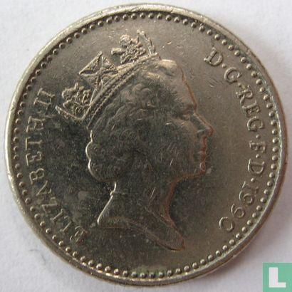 United Kingdom (Great Britain) - United Kingdom 5 pence 1990
