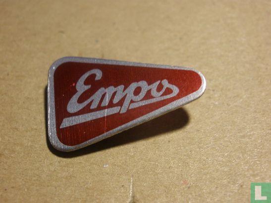 Empo Vorden - Empo [rood op zilver]