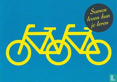 """Boomerang Freecards - B080016 - Maatschappelijke stage """"Samen leven kun je leren"""""""