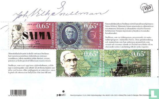 Finland - Johan Vilhelm Snellman