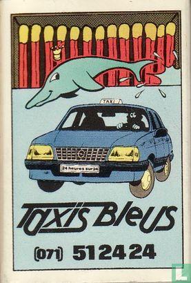 Taxis Bleus / Patrick Renard l'originale publicité - Image 1