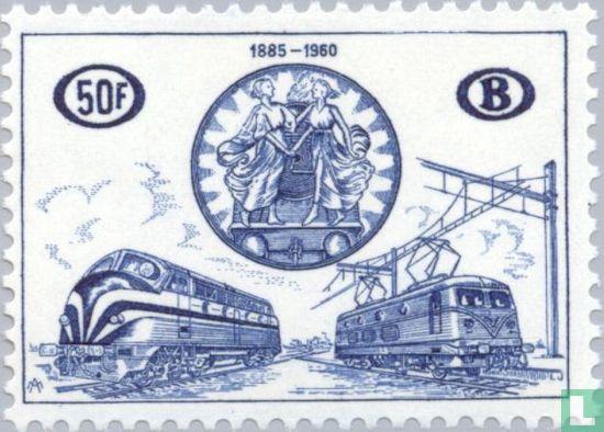 België [BEL] - Verjaardag van het congres der spoorwegen