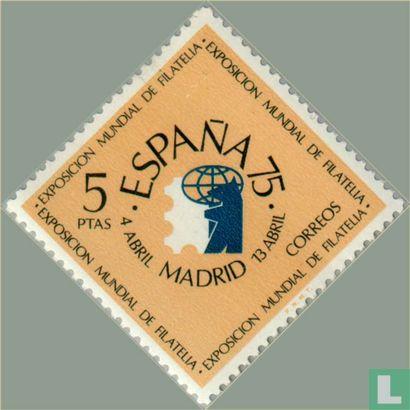 Spanje [ESP] - Int. Postzegeltentoonstelling España 75