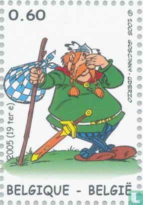 België [BEL] - Asterix en de Belgen