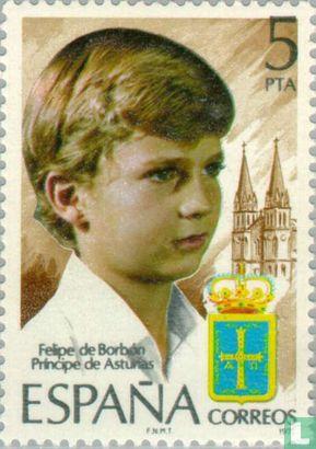 Espagne [ESP] - Prince Felipe de la Couronne
