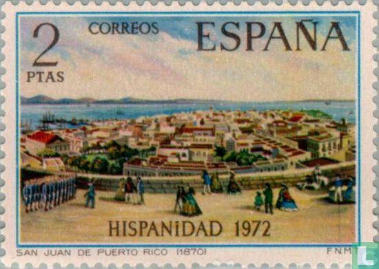 Spain [ESP] - 450 years of Puerto Rico