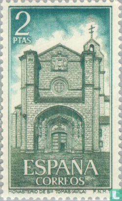 Spain [ESP] - Convent of Santo Tomás, Ávila