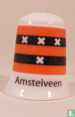 Amstelveen gemeentevlag vingerhoedje