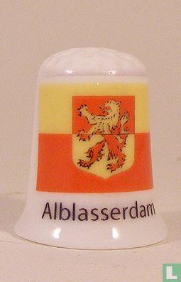 Alblasserdam gemeentevlag vingerhoedje