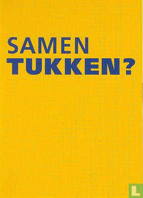 "Boomerang Freecards - B080084a - Nederlandse Spoorwegen ""Samen tukken?"""