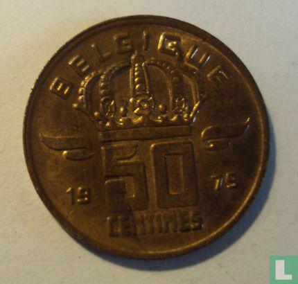 België - België 50 centimes 1979 (FRA)