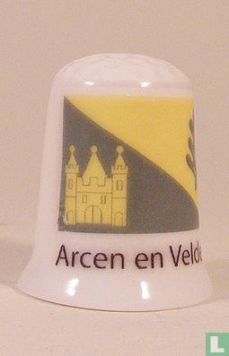 Arcen en Velden gemeentevlag vingerhoedje