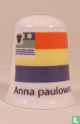 Anna Paulowna gemeentevlag vingerhoedje