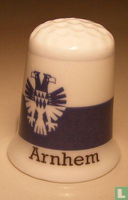 Arnhem gemeentevlag vingerhoedje