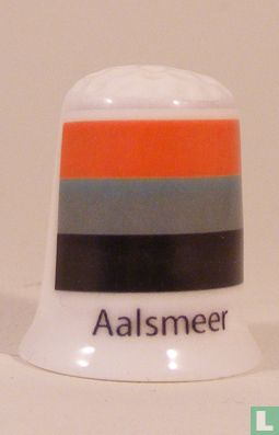 Aalsmeer gemeentevlag vingerhoedje