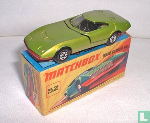 Matchbox (Lesney) - Dodge Charger MK III