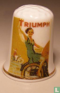 Triumph motor reclame vingerhoedje