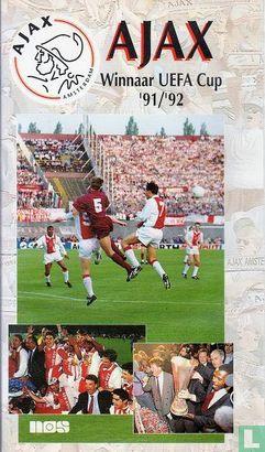 VHS videoband - Ajax Winnaar UEFA Cup '91/'92