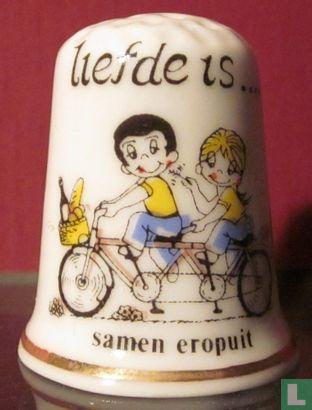 fiets Liefde is ...