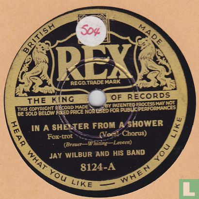 Jay Wilbur & his band - In A Shelter From A Shower