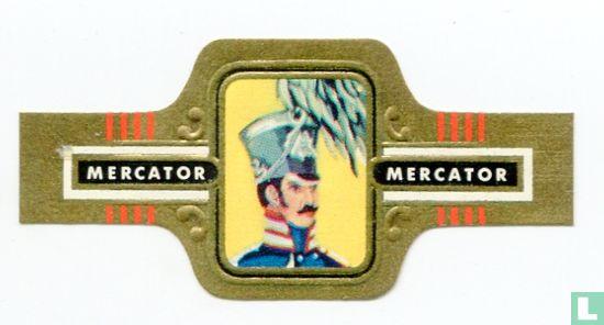 Mercator - Pruisen Fuselier