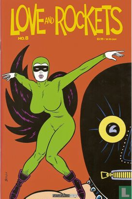 Julio's day - Love and Rockets 8