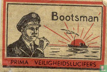 Bootsman, prima veiligheidslucifers