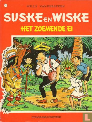 Willy and Wanda (Spike and Suzy, Bob & Bobette, Luke a...) - Het zoemende ei
