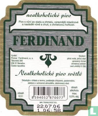 Ferdinand, Benesov - Ferdinand Nealko Pivo
