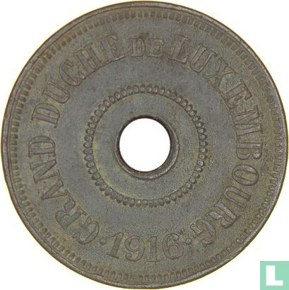 Luxembourg 25 centimes 1916 - Image 1