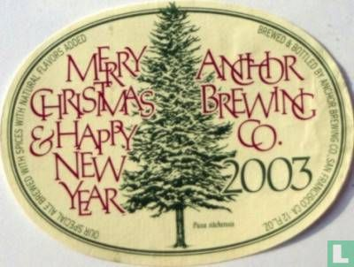 Anchor Brew, San Francisco - Anchor Merry Christmas