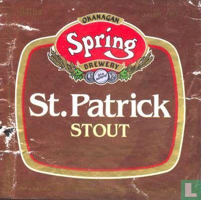 Okanagan Spring Brewery - St. Patrick Stout